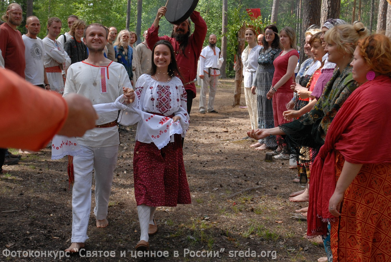 Фото славянская свадьба