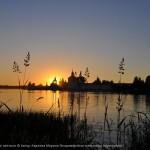 Кирилло-Белозерский монастырь на закате