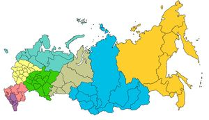 """Тест """"10 вопросов о Федеральных округах России"""""""