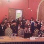 Координатор службы Среда Алина Багрина презентовала данные проекта Арена в рамках XXI Рождественских чтений