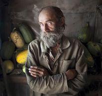 Хитайленко Андрей - Портрет с кабачками