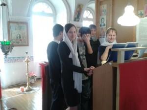 1. Клирос Свято-Троицкого храма с. Понино