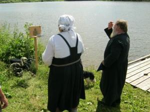 Чин крещения, д. Соколово