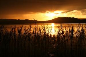 озеро Тиберкуль на вершине горы Сухая