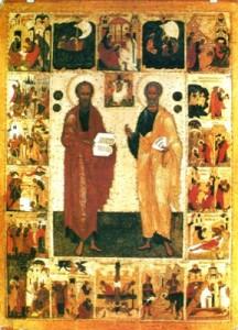Апостолы Павел и Пётр