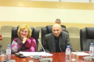 Михаил Юрьевич Смирнов и Жанна Вячеславовна Латышева, доцент ВЛГУ