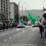 Ибрагим Касаев - Жители ждут Священные вещи Пророка Мухаммеда