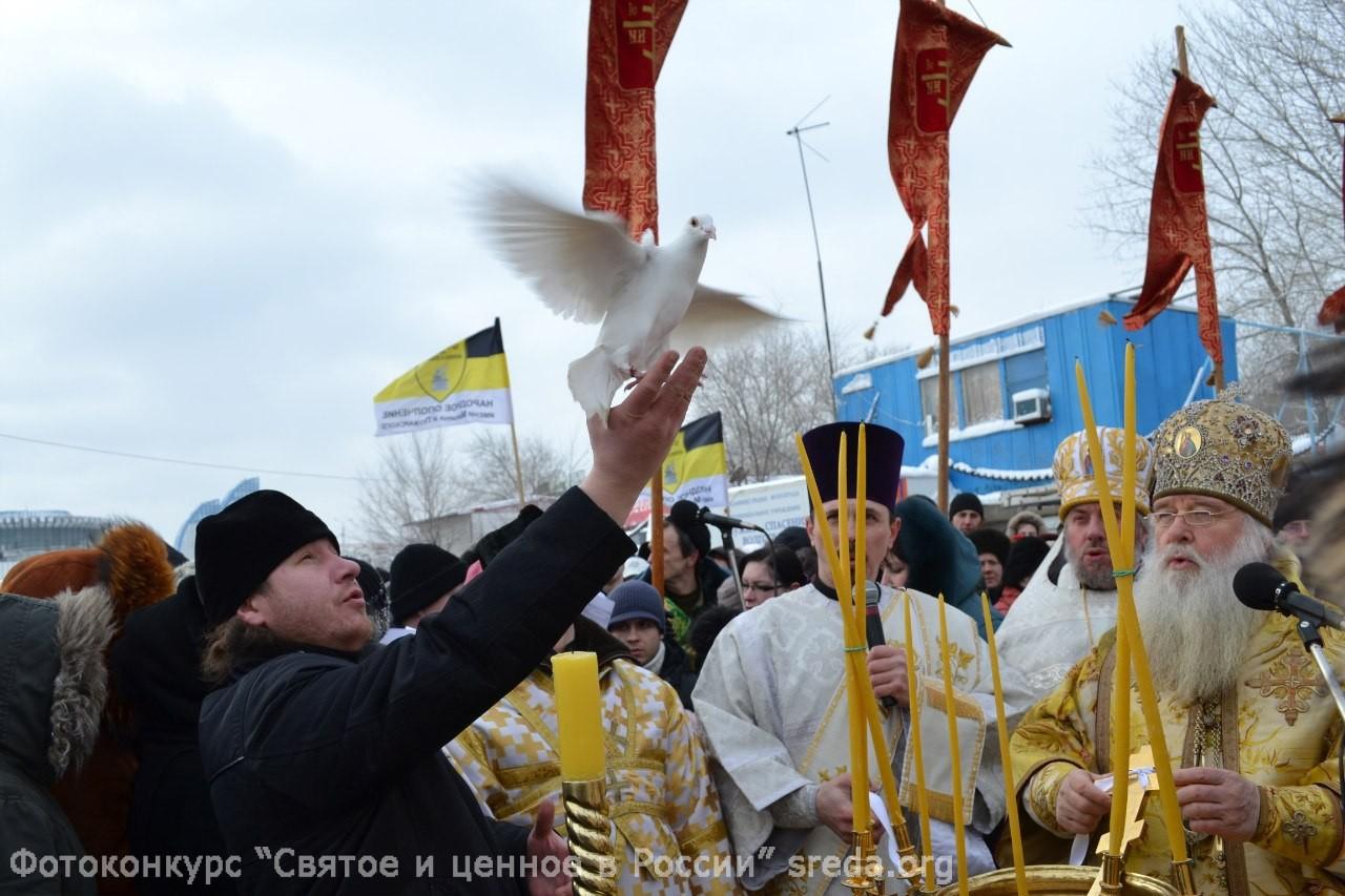 Radchuk-Anastasiya-Volgograd-Zapusk-golubya-na-Kreshhenie-v-Volgograde-Vera-i-religiya